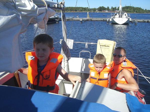 Segling i Runes båt